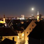 View to Tallinn Old Town