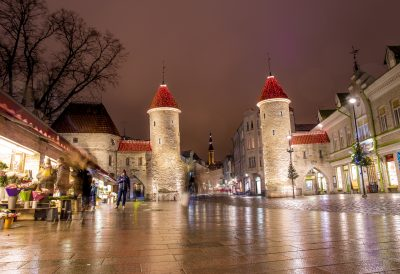Medieval gateway to old town