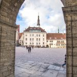 Center of Tallinn's old town